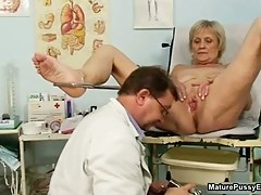 Doctor abusing a female grandma