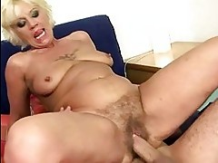 Naughty granny getting fucked pretty hard