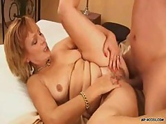 Perverted Mature Cum Fucking Feast