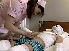 Japanese nurse and patient porn