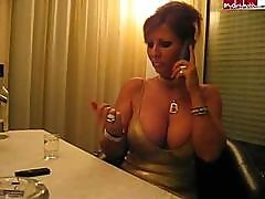 Huge Tits In Restaurant 2