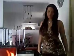 Dancing Dildo masturbation from Belgium