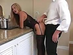 Hot Busty Blonde Mom Is Sucking And Getting Fucked In A Motel