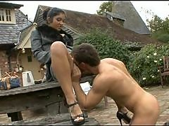 Indian Hot Chick Fucked by Gardener In UK