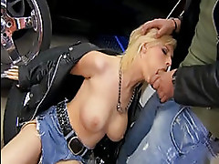 Tarra White Bound and fucked