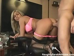 Naughty sarah goes ass to mouth part1of3