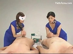 Asian girl how to give handjob guys cumming