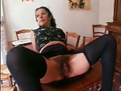 French mature maid fucked