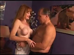 Grandpa and redhead mature
