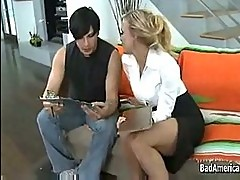 Guy fucks his sex teacher amber lynn