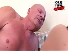 Old and young gangbang 5