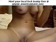 Fingering Teen amateur orgasm masturbation on webcam homemade