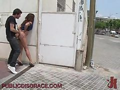 Redhead Craves On Big Cock In Public Scene