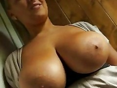 Huge rack amateur Cherlyn hard drilled for cash