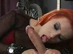 Red haired paramour Dani Jensen can't live out of the thick cock sliDing in and out her Mouth