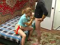 Drunk Russian Teen Girl