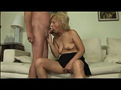 Blonde Little Saggy Titted Mature Mil...
