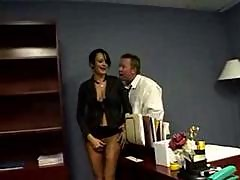Raven secretary office surprise