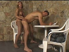 Carla&Paulo tranny dicking boy on video