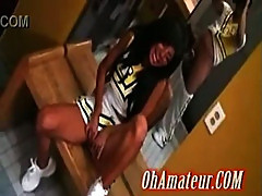 hot cheerleader sucking hard cock