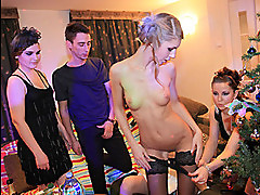 New Years Eve College Sex Party