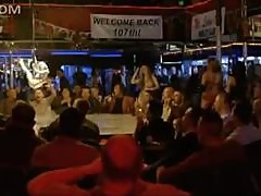 Tommy Lee Jones Walks Into a Strip Club Packed With Hot Topless Chicks