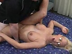 Sex with a horny cop in glasses