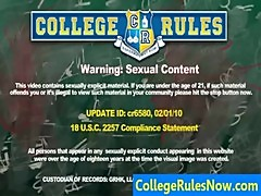 Hot College Videos And REAL Dorm SexTapes - CollegeRulesNow.com sample02