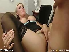 Office Girl Tanya Tate In The Cock Blocker Part 4