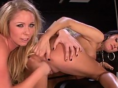 Alektra Blue and Brynn Tyler In Hot Girl on Girl Action Vid