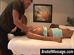 Amia Miley Gets Covered In Oil And Gets A Nice Hot Massage