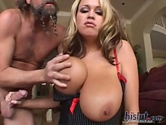 Brandy Talore is one of the all time boob ...