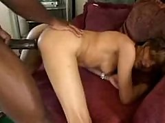 Tight Cytherea speared by a big black cock