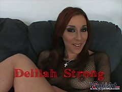 Busty Delilah Strong banged in ass