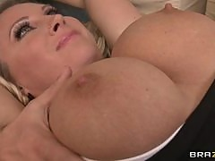 Titty Fucking And Hardcore Pounding With The Gorgeous Blonde Milf Devon Lee