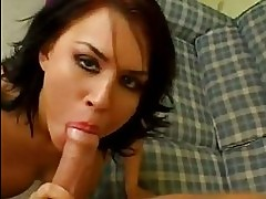 Sexy hot Eva Angelina loves to have her boyfriends pole in h...