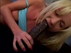 Wild blondie Hillary Scottpushes a monster beaver deep in he...