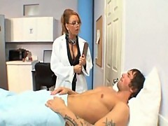 Horny doctor janet mason fucking her young patient