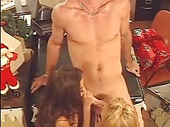 Bridgette Kerkove and Jenna Haze share a juicy wang sucking ...