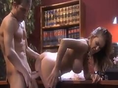 Erotic office sex with Jenna Presley