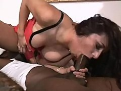 Hot Kaylynn takes a huge black dick