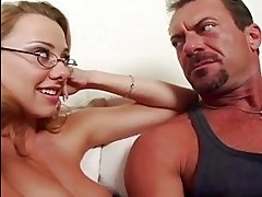 Tiana Lynn & Kinzie Kenner suck cock before orgasm