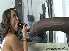 Kristina Rose Goes Bottom Up For A BBC An ...