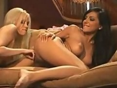Brea Bennett & Lela Star Fuck On The Couch