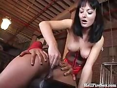 Melissa Lauren And Annie Cuz In The Movie Hell Fire Sex Get Nailed
