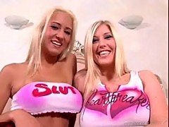 Michelle b. and trina michaels are a big boob lover's dream