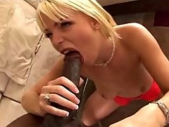blonde missy monroe enjoys black cock