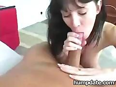 Busty Milf Rayveness Gives Very Hot Blowjob