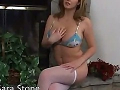 Sara stone an all natural breast queen