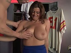 Sexy Sara Stone Likes a Jock with a Big Cock